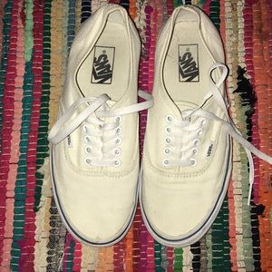 CREAM COLORED VANS